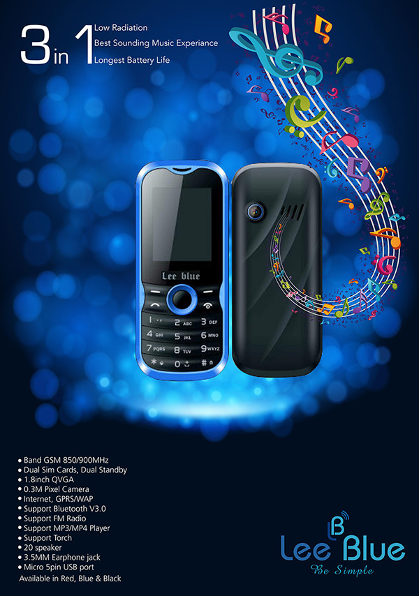 Lee Blue Mobiles